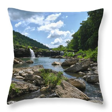 Rock Island State Park 7 Throw Pillow