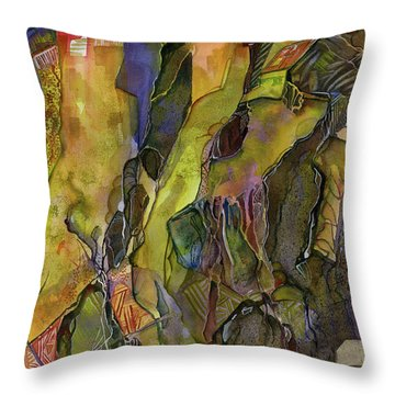 Rock Solid Throw Pillow