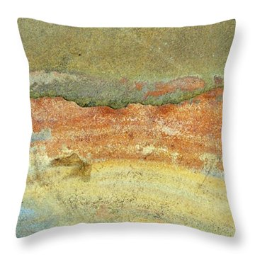 Rock Stain Abstract 2 Throw Pillow