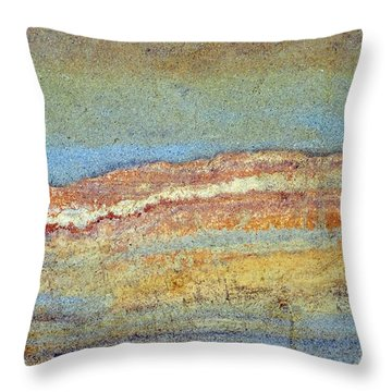 Rock Stain Abstract 3 Throw Pillow
