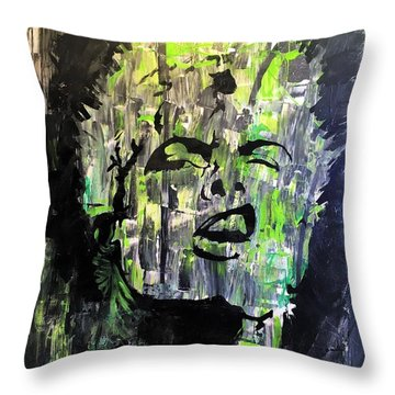 Rock The Cradel Throw Pillow