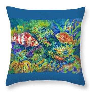 Rockfish Throw Pillow