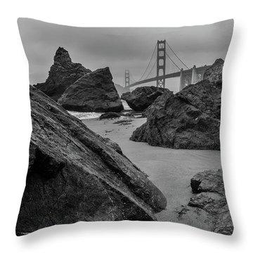 Rocky Marshall's Beach Throw Pillow