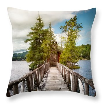 Rocky Point Throw Pillow