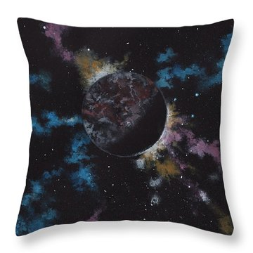 Rogue Planet Throw Pillow