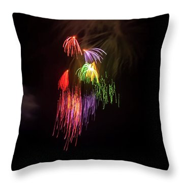 Romancing In The Dark Collection Set 05 Throw Pillow