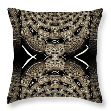 Romans Throw Pillow