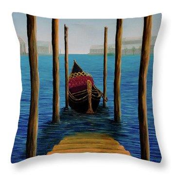 Romantic Solitude Throw Pillow