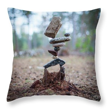 Rootzen Throw Pillow