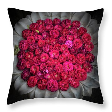 Rose Bowl Throw Pillow