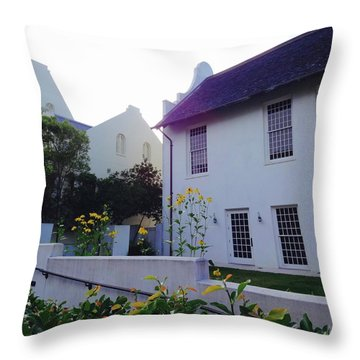 Rosemary Beach In Color Throw Pillow