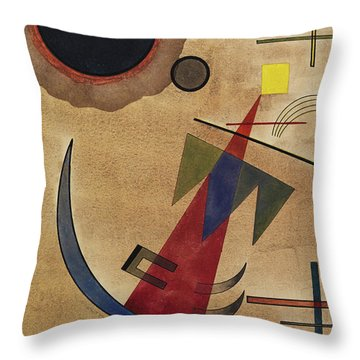 Rot In Spitzform, 1925 Throw Pillow