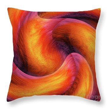Rotation Throw Pillow