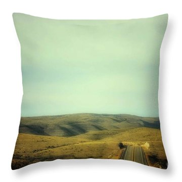 6-mile Hill Throw Pillow
