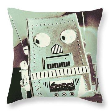 Rover 001 Throw Pillow