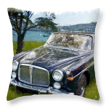 Rover 3.5 P5b Throw Pillow