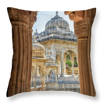 Royal Cenotaphs Throw Pillow