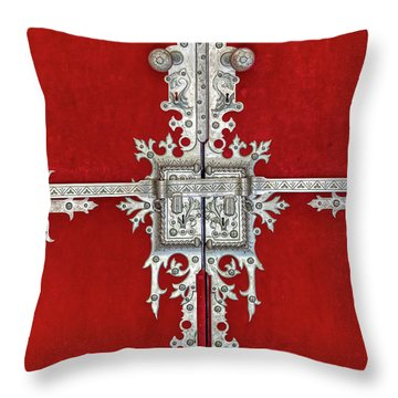 Royal Door Of Sintra Throw Pillow