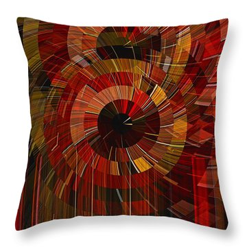 Royal Fireworks Throw Pillow