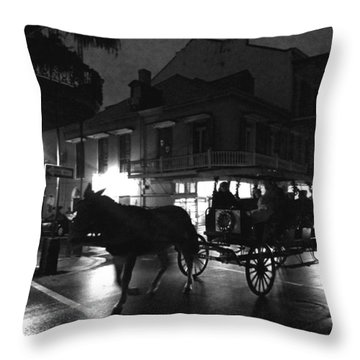 Royal Street Throw Pillow