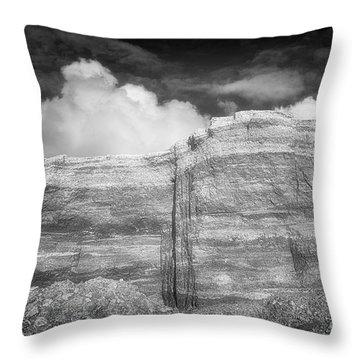 Rubble Mesa Throw Pillow