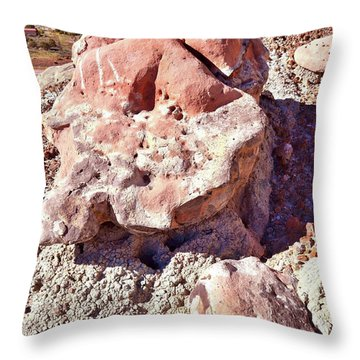 Ruby Mountain 103 Throw Pillow