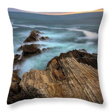 Rugged Beauty  Throw Pillow