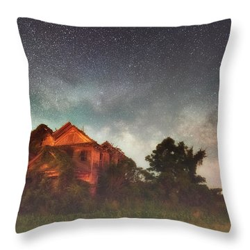 Ruined Dreams Throw Pillow