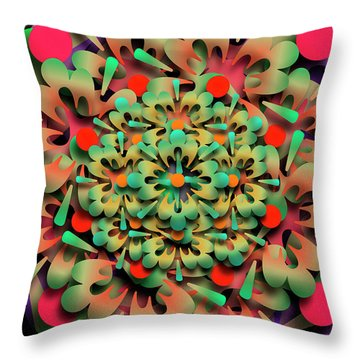 Rumid Remix One Throw Pillow