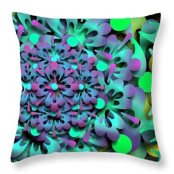 Rumid Remix Throw Pillow