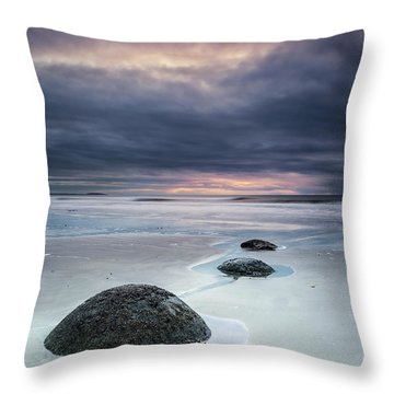 Run With The Tide Throw Pillow