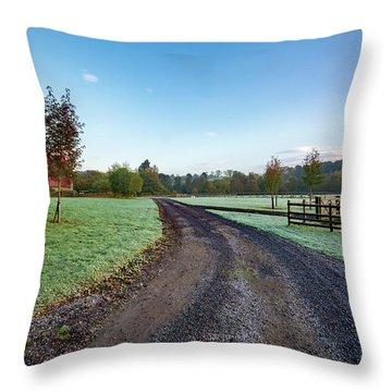 Rural Richmond Throw Pillow
