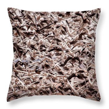 Throw Pillow featuring the photograph Rush Hour by Jeff Phillippi