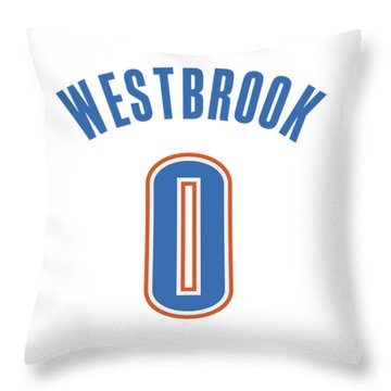 Russell Westbrook Throw Pillow
