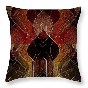 Russian Royalty Throw Pillow