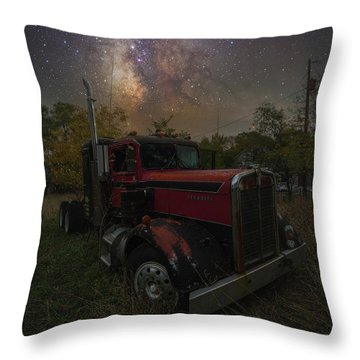 Throw Pillow featuring the photograph Rusty  by Aaron J Groen