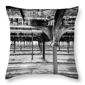Throw Pillow featuring the photograph Rusty Crusty Crunchy by Steve Stanger