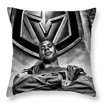 Ryan Reaves Vegas Golden Knights Throw Pillow