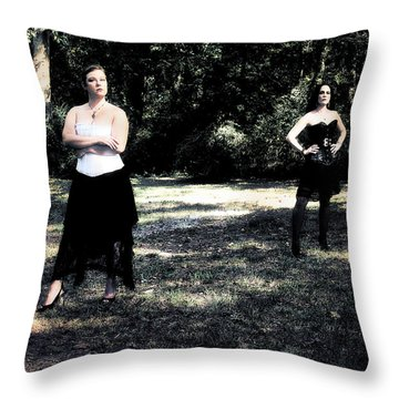 Ryli And Corinne 5 Throw Pillow