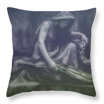 Sadness And Sorrow Throw Pillow