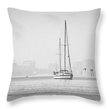 Sail Out Of Sarasota Throw Pillow