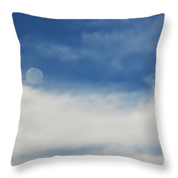 Sailing On A Cloud Throw Pillow