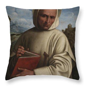 Saint Bruno Throw Pillow
