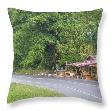 Saint Mary, Jamaica Throw Pillow