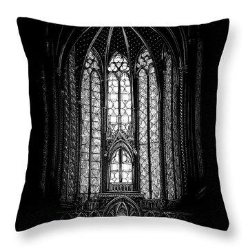 Sainte-chapelle Throw Pillow