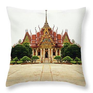 Sak Yant  Throw Pillow