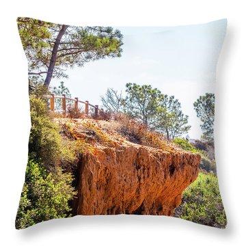 San Diego Landscape Throw Pillow
