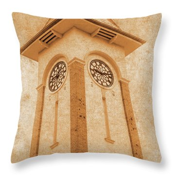 Sandgate Town Hall Throw Pillow