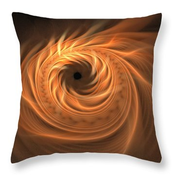 Sands Of Shallazar Throw Pillow