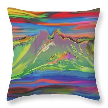 Santa Fe Sunset Throw Pillow